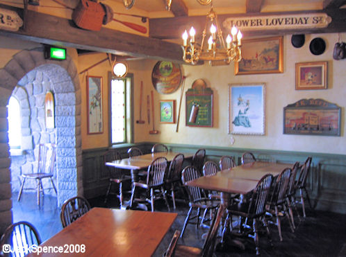 Disneyland Paris Fantasyland Toad Hall Restaurant