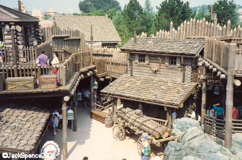 Disneyland Paris Frontierland Fort Comstock