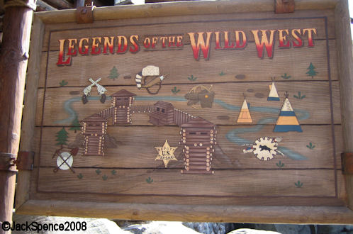 Disneyland Paris Frontierland Legends of the West