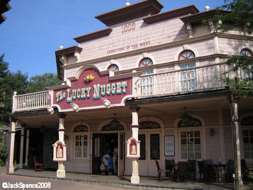 Disneyland Paris Frontierland Thunder Mesa Golden Nugget Saloon