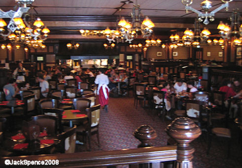 Disneyland Paris Frontierland Silver Spur Steakhouse