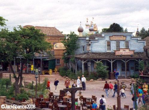 Disneyland Paris Frontierland Thunder Mesa
