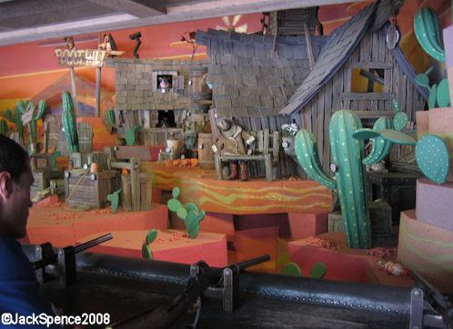Disneyland Paris Frontierland Rustler Roundup Shootin' Gallery