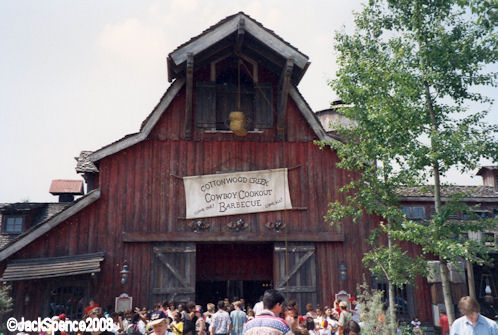 Disneyland Paris Frontierland Cowboy Cookout Barbeque