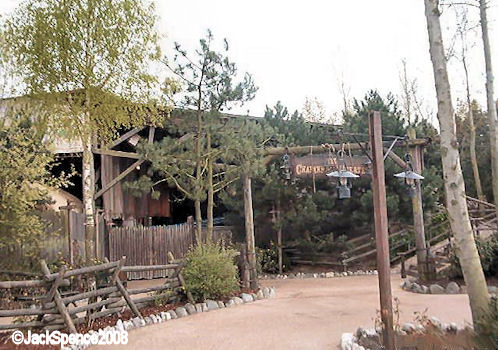 Disneyland Paris Frontierland Chaparral Theater