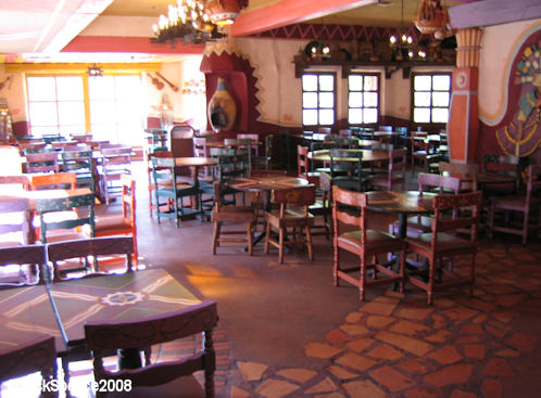 Disneyland Paris Frontierland Fuene del Oro Restaurante