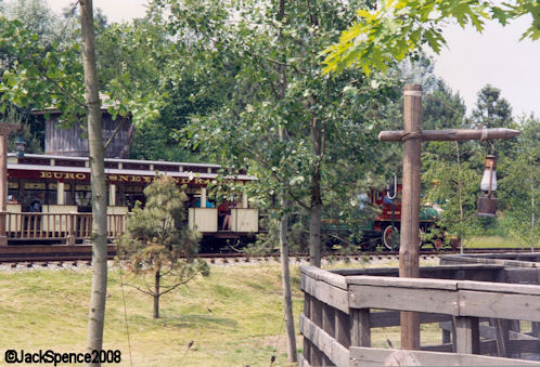 Disneyland Paris Frontierland Train Depot