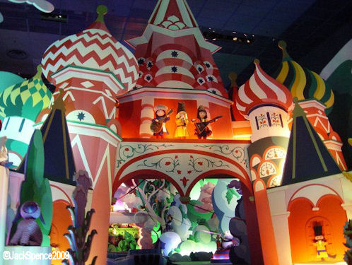 Disneyland Paris it's a small world