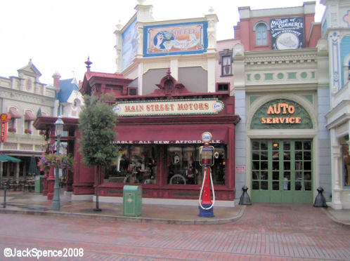 Disneyland Paris Main Street Main Street Motors