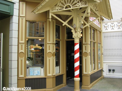 Disneyland Paris Main Street Dapper Dan's Hair Cuts
