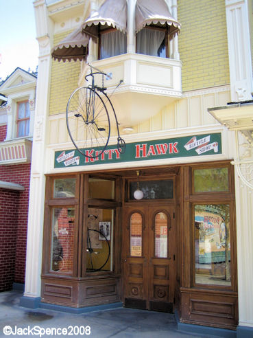 Disneyland Paris Main Street Kitty Hawk Bicycle Shop