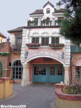 Disneyland Paris Pizzeria Bella Notte