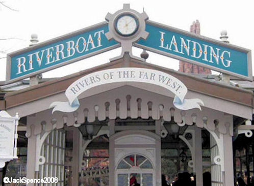 Disneyland Paris Riverboats