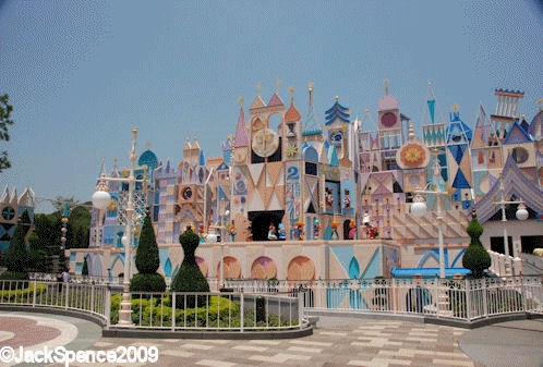 Hong Kong Disneyland its a small world