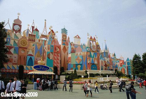 Tokyo Disneyland its a small world