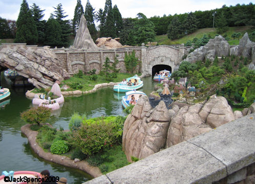 Disneyland Paris Fantasyland Land of the Fairytales
