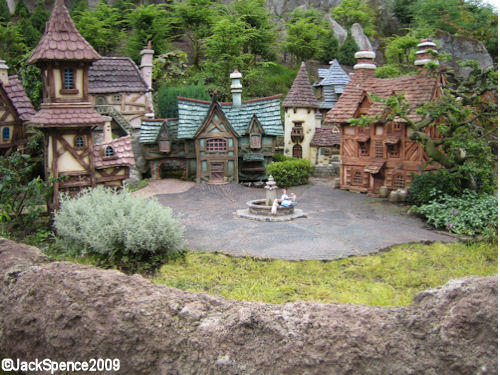 Disneyland Paris Fantasyland Land of the Fairytales Belle's Village