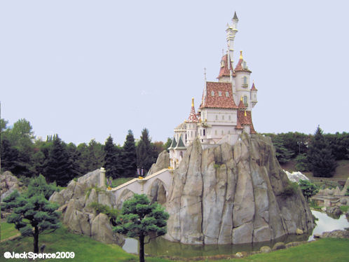Disneyland Paris Fantasyland Land of the Fairytales Beast's Castle