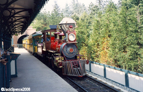 Disneyland Paris Train Fantasyland Station