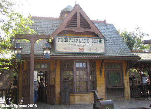 Disneyland Paris Train Frontierland Station