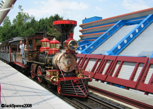 Disneyland Paris Train Discoveryland Station