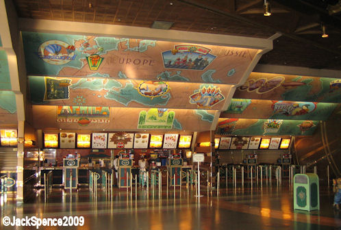Disneyland Paris Videopolis Cafe Hyperion