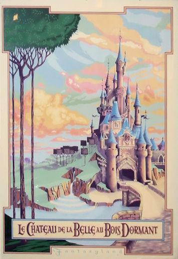 Disneyland Paris Sleeping Beauty Castle. When the Imagineers began their