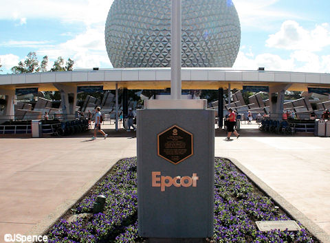 Epcot Dedication Plaque