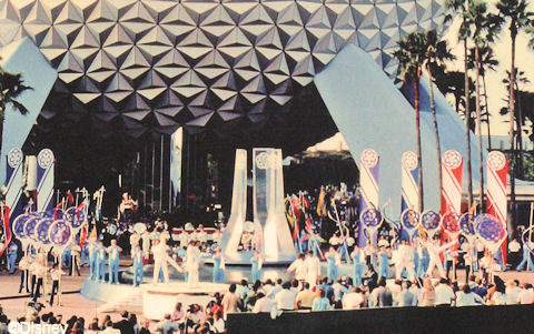 EPCOT Center Dedication Festivities