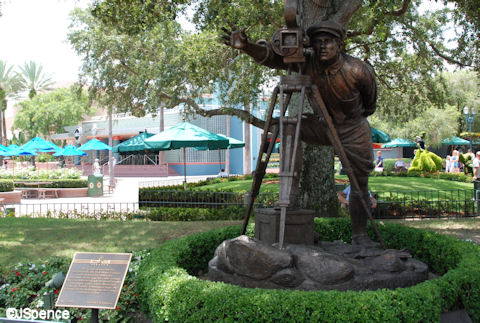 Director's Statue at Disney's Hollywood Studios