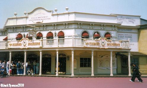 Diamond Horseshoe Tokyo Disneyland