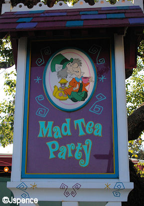 Mad Tea Party Font