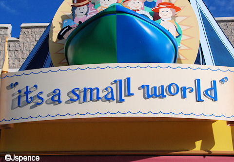 'it's a small world' Font