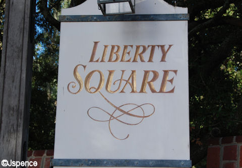 Liberty Square Entrance Font