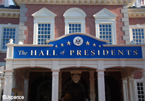 Hall of Presidents Font