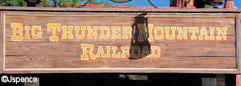 Big Thunder Mountain Railway Font