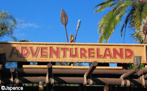Adventureland Entrance Font