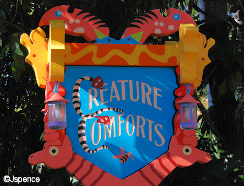 Creature Comforts Sign
