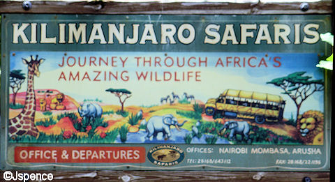 Professionally Painted African Sign