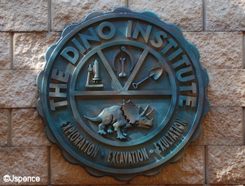 Dino Institute Plaque