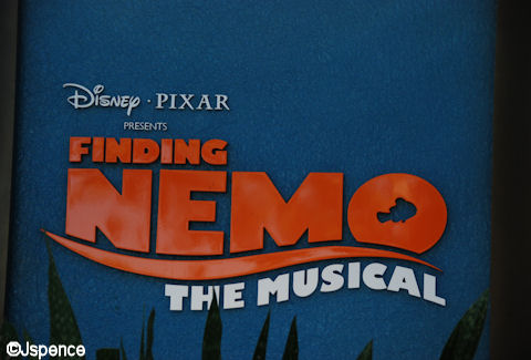 Finding Nemo, The Musical Sign