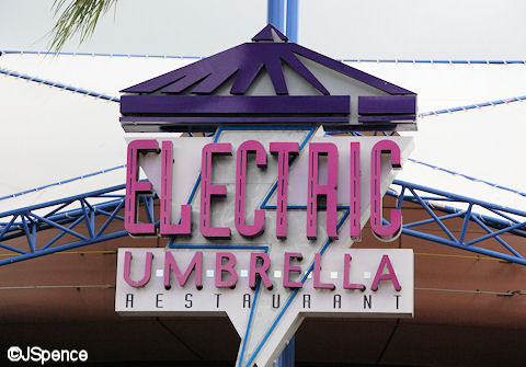 Electric Umbrella Font
