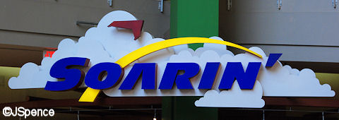 Soarin' Sign