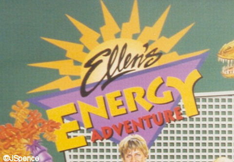 Ellen's Energy Adventure Sign