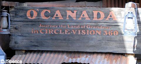 """O'Canada!"""" Sign"""