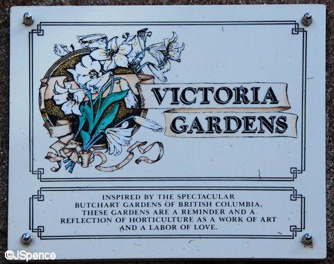 Victoria Gardens Sign