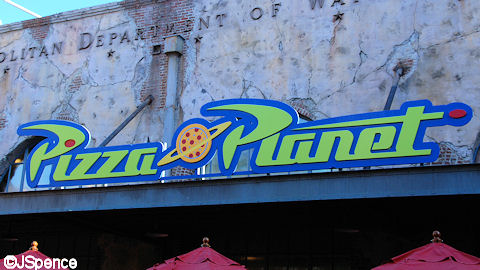 Pizza Planet Restaurant