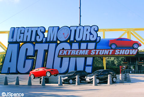 Lights Motors Action Sign