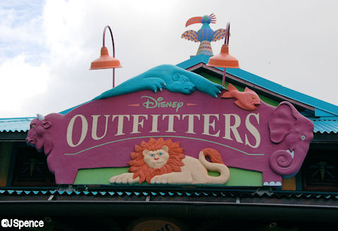Disney Outfitters Sign