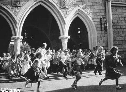 Opening Day at Disneyland